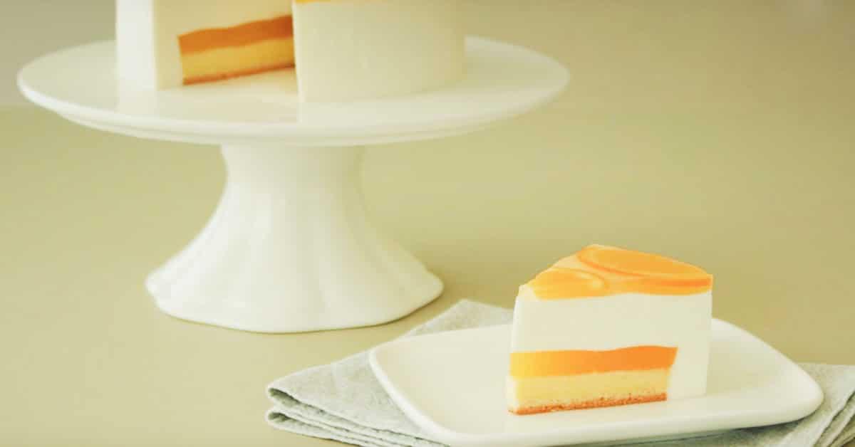 Japanilainen appelsiinikakku, joka ei vaadi paistamista