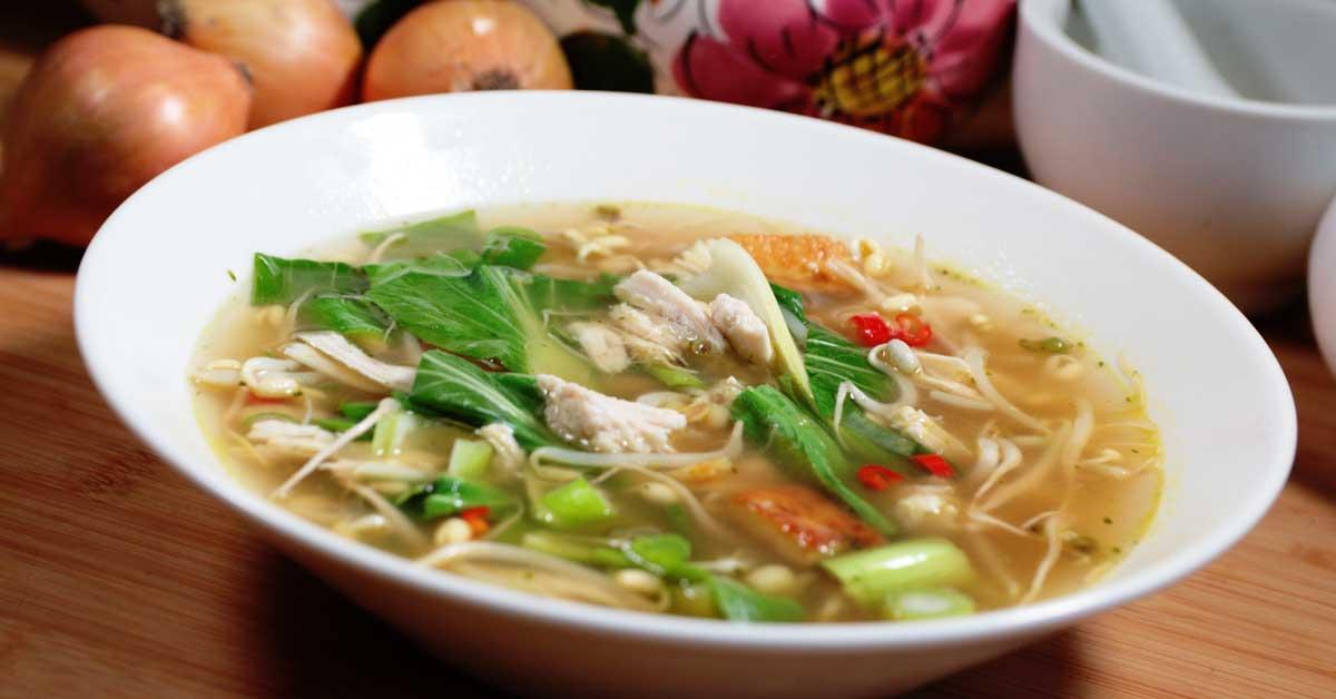 Pho – vietnamilainen kasvis-nuudelikeitto