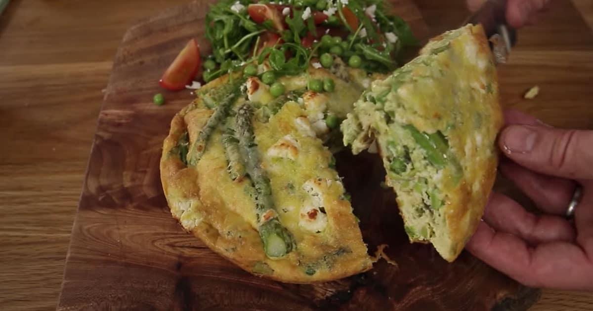 Frittata – eli italialainen omeletti – Jamie Oliverin tapaan