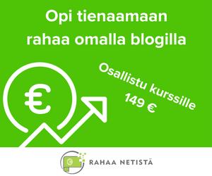 Rahaa Netistä verkkokurssi