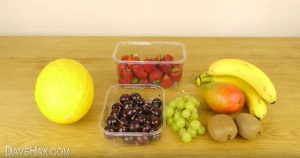 Supernopea hedelmäsalaatti
