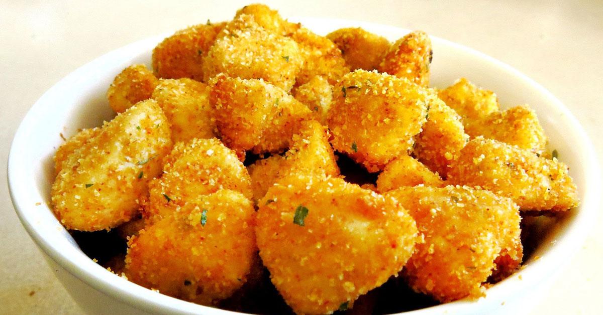 Maustettua popcorn-kanaa – helppoa ja maukasta