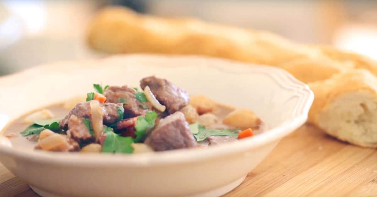 Burgundinpata – maukas ranskalainen lihapata