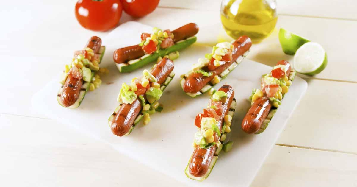 Zucchini-hodarit – mehukas ja maistuva grilliherkku