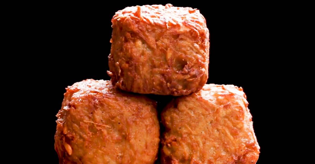 Friteeratut juusto-peruna-kinkkukuutiot – tuhti boksi täynnä makuja!