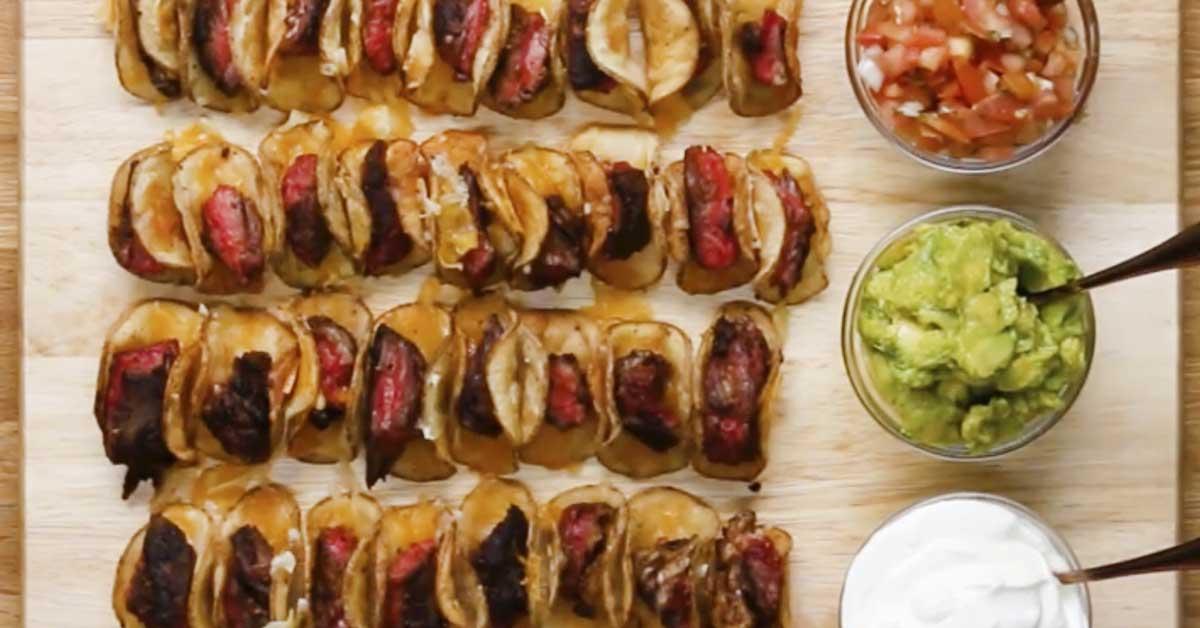 Skirt steak ja perunatacot – täydellisyyttä hipova herkku maukkaan lihan ystäville
