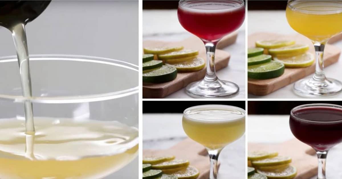4 erittäin helppoa cocktailia