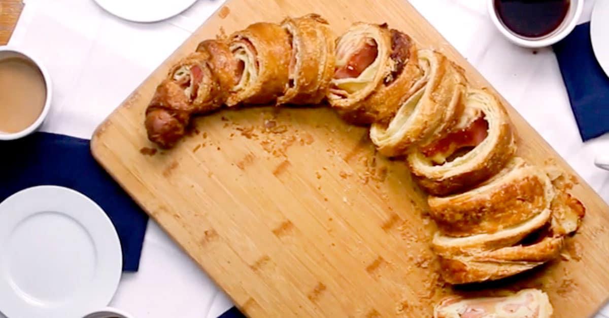45 senttinen kinkku-juusto-croissant – nyt on kokoa ja makua