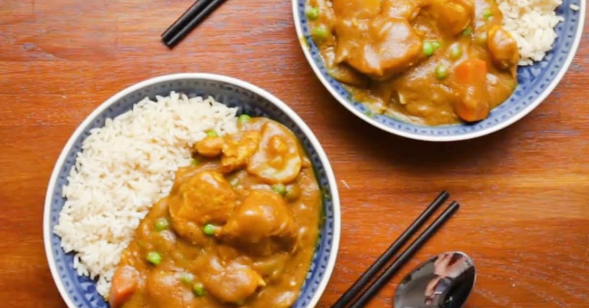 Kiinalainen curry-kana – herkullista arkiruokaa, joka on helppo valmistaa