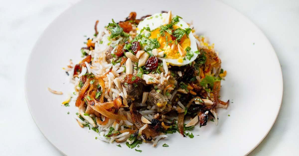 Lammas Biryani – maukasta intialaista ruokaa, joka ei jätä kylmäksi