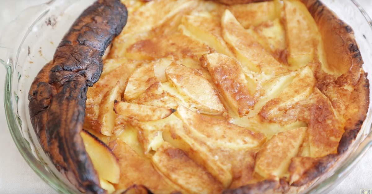 Omenapannukakku – valmistuu vaivattomasti ja maistuu varmasti jokaiselle