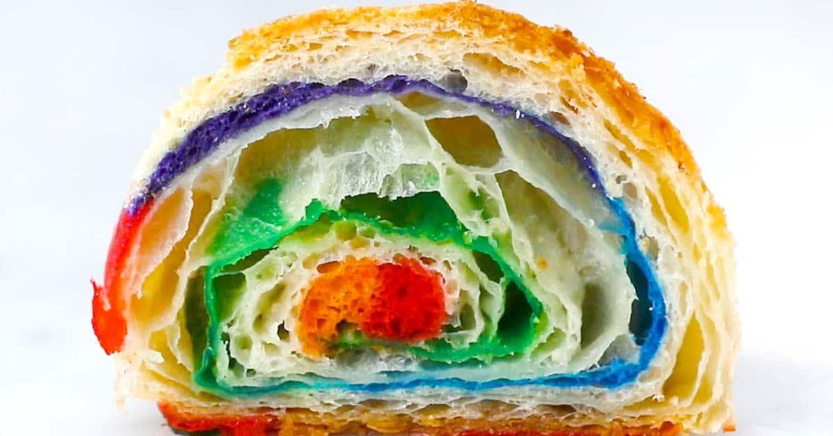 Sateenkaarikroisantit – nämä värit ja maut ihastuttavat varmasti jokaista