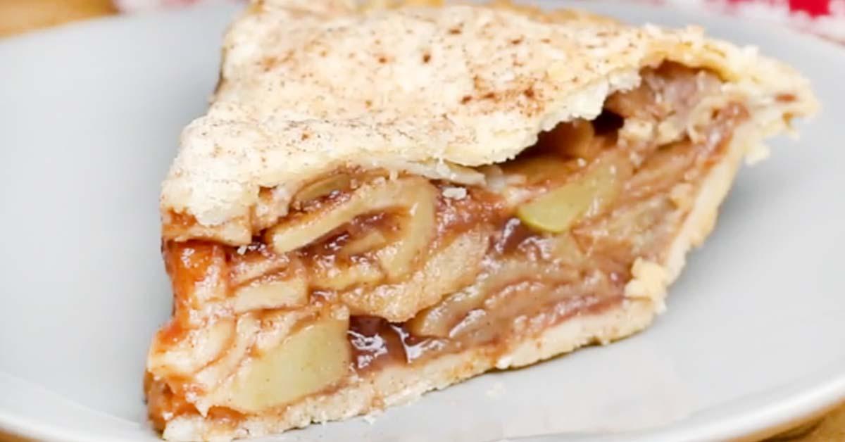 Vegaaninen omenapiirakka – uskomattoman maukas lopputulos
