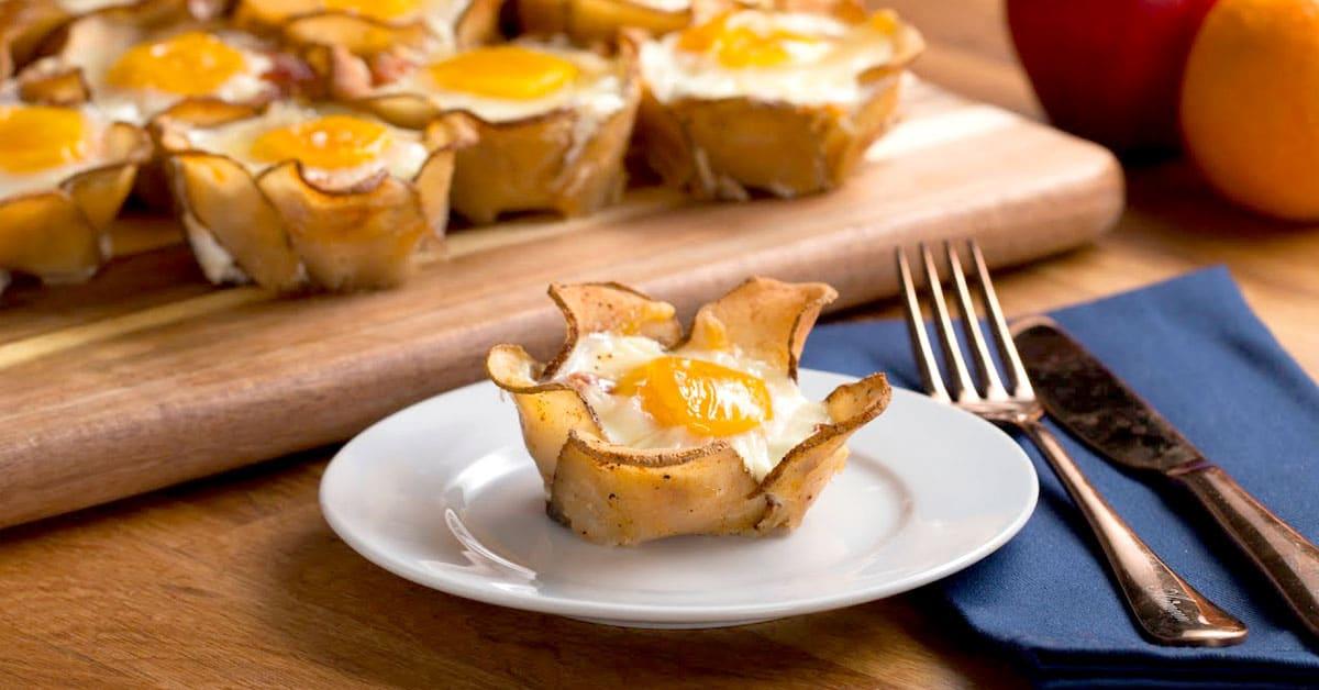 Perunakukkakupit aamupalaksi – kaunista ja niin kovin kätevää