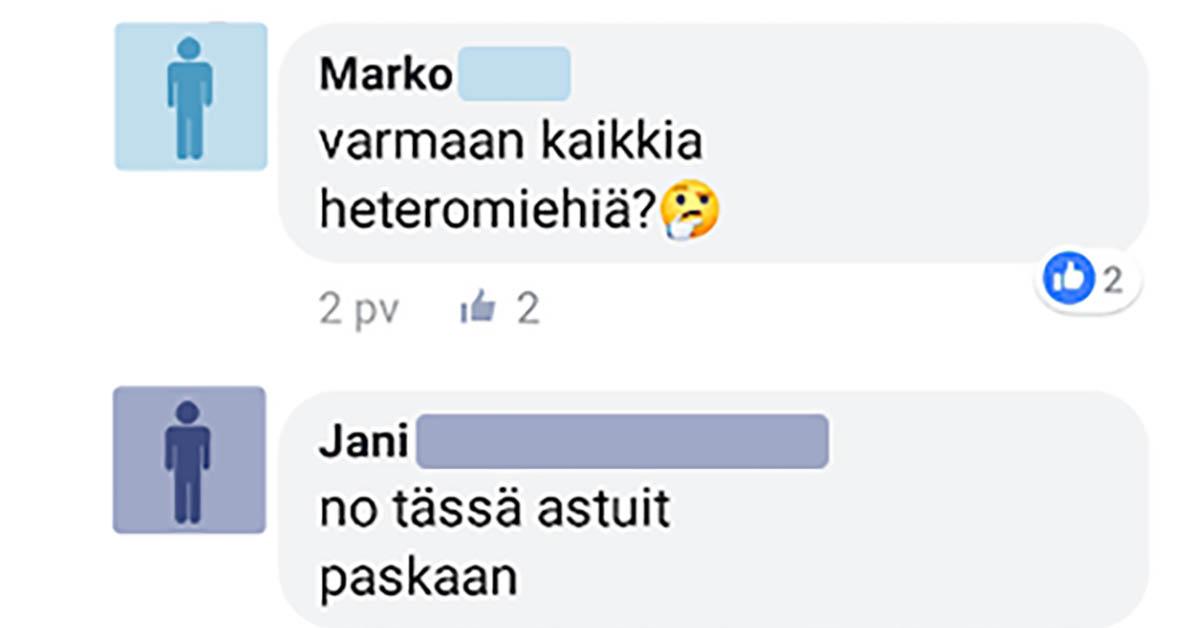 Feissarimokat: Jani ja Marko selvittävät millaisia miehiä naisen sukupuolielin kiinnostaa
