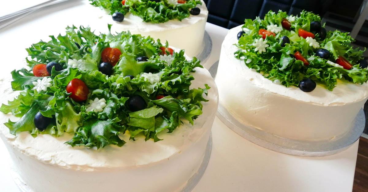 Kinkkuvoileipäkakku 2 – Kakun pyöreä paluu