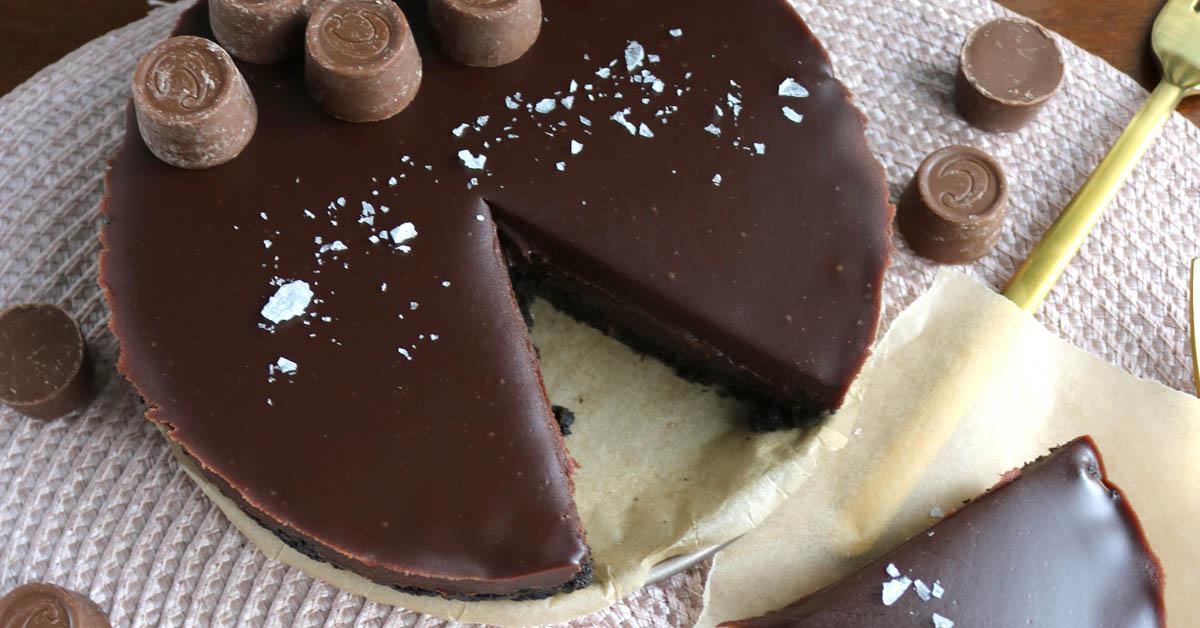 Suklaatoffeepiiras – Herkku Cloetan Center toffeenappien ystäville