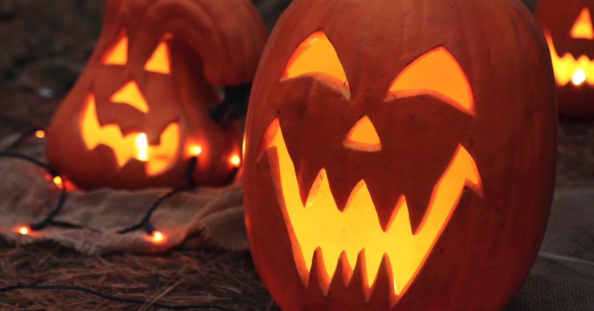 Tarjoiluideoita Halloween-juhliin