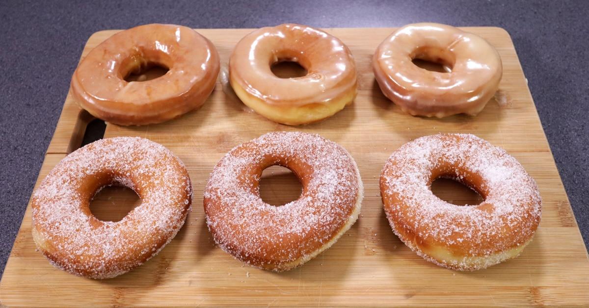 Munkki VS donitsi – herkkuohje, jossa donitsit taipuvat myös munkeiksi