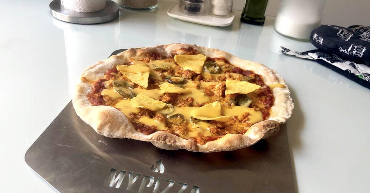 Mexicana pizza a'la Jukka Tammela – parasta pizzaa pizzateräksellä