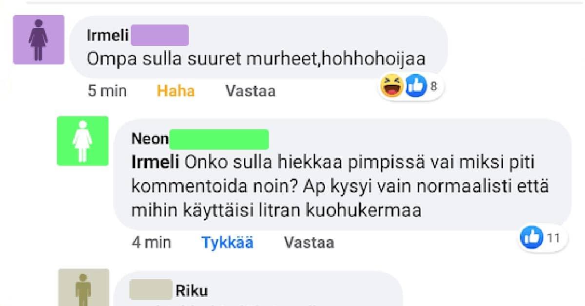 FEISSARIMOKAT: Sanna pyytää vinkkejä kerman käyttöön – Irmelillä kiehuu heti yli