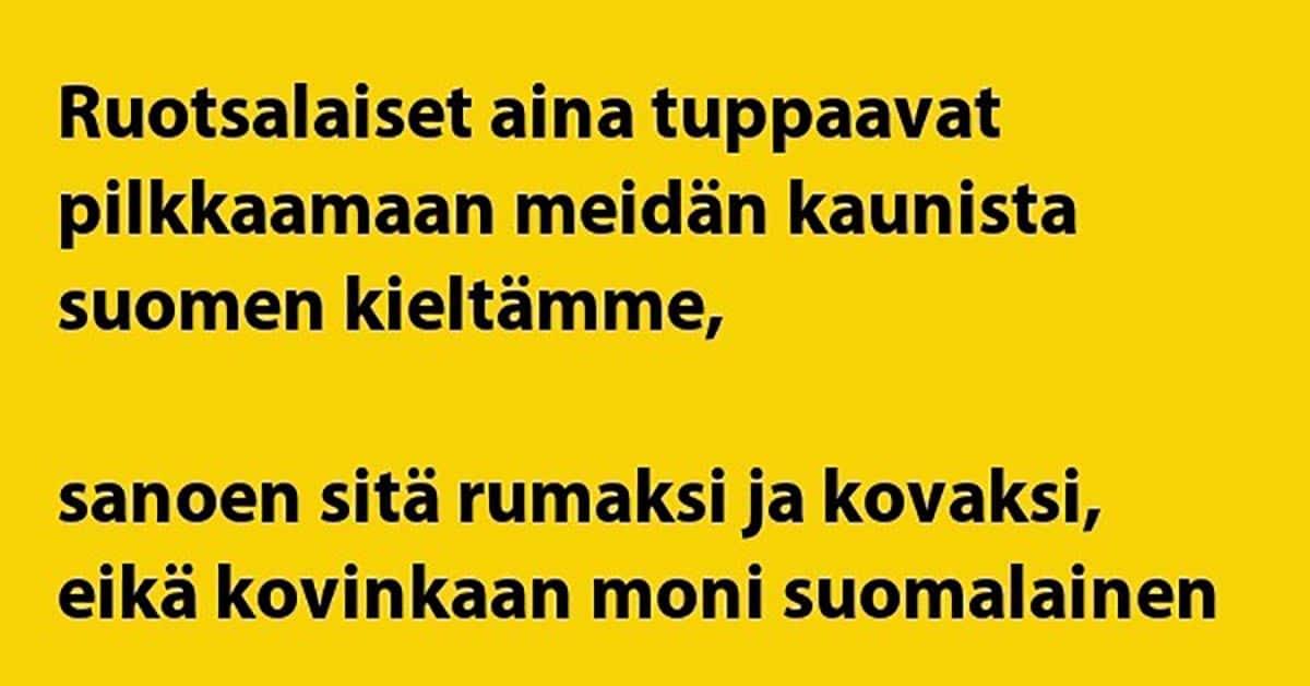 VITSIT: Kansainvälinen raati arvioi suomen ja ruotsin kieltä – nauramiselle ei tule loppua